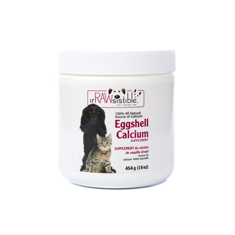 IrRAWsisitible Eggshell Calcium Supplement - Naturally Urban Pet Food Delivery