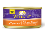 Wellness Minced Chicken Entree 24 x 5.5 oz. cans