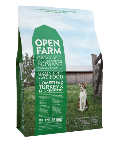 Open Farm Homestead Turkey and Chicken Recipe 8 lbs.