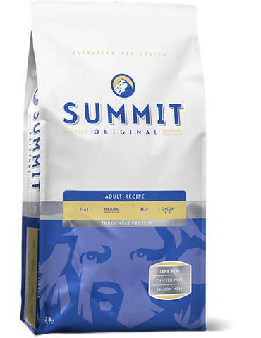 Summit - Three Meat Adult Dog Food Recipe 28 lbs. - Naturally Urban Pet Food Delivery
