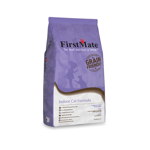 FirstMate's Grain Friendly Indoor Cat  Formula 13 lbs