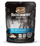 Merrick Backcountry Real Whitefish Cuts 24 x 3 oz pouches