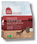 Open Farm Grass-Fed Freeze Dried Raw Dog Food 13.5 oz