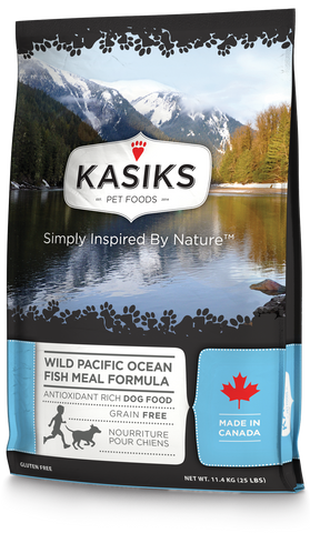 Kasiks Wild Pacific Fish Meal 25 lbs.