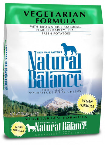 Natural Balance Vegetarian Dry Formula 30 lbs. bag