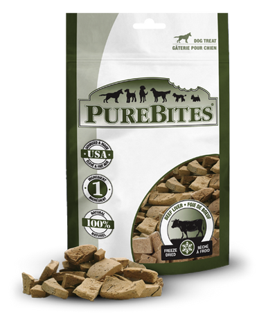 Purebites Freeze-Dried Beef Treats 1 lbs - Naturally Urban Pet Food Delivery