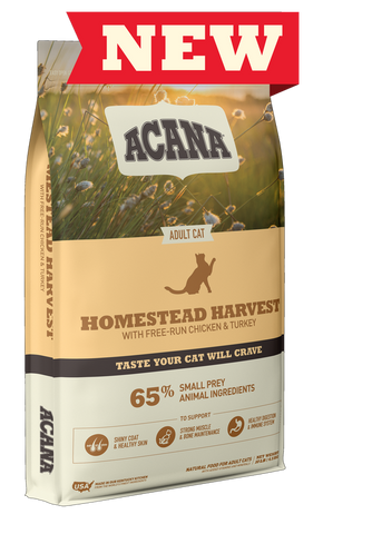 Acana Small Prey Homestead Harvest for cats 4.5 KG