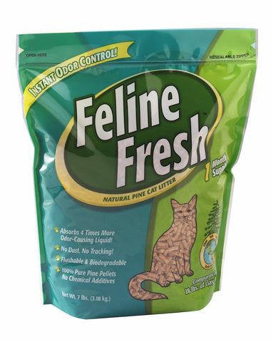 Feline Fresh Natural Pine Cat Litter 40 lbs ***cannot be sold by itself***