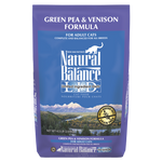 Natural Balance Green Pea & Vension Dry Formula 8 lbs. bag