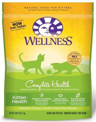 Wellness Complete Health Kitten Health 5lbs 14 ounces