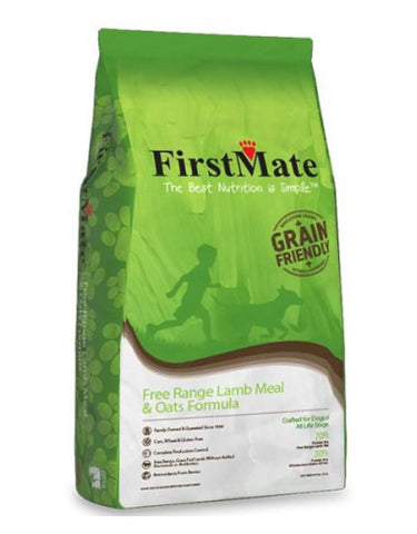 FirstMate's Grain Friendly Free Range Lamb & Oats Formula 25 lbs