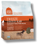 Open Farm Farmer's Table Pork Freeze Dried Raw Dog Food 13.5 oz.