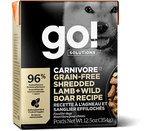 GO! Carnivore Shredded Lamb & Boar 12/12.5OZ