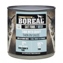 Boreal Cat Tuna Red Meat in Gravy 12 x 12.6 oz. cans