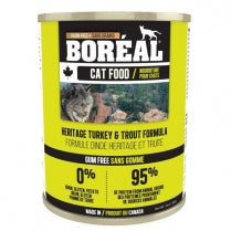 Boreal  Heritage Turkey & Trout for cats