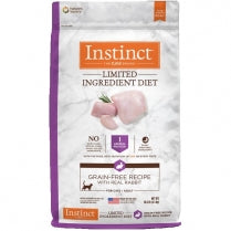 Nature's Variety Instinct Kibble Limited Ingredients for Cats Rabbit Formula 10 lbs. bag