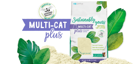 Sustainably Yours Multi Cat PLUS extra odour control Litter 26 Lbs