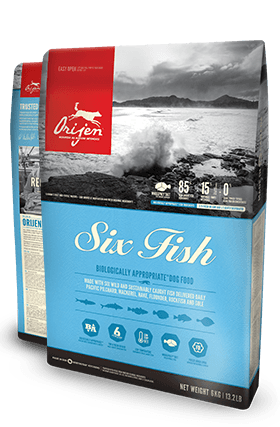 Orijen Six Fish Dog 11.4kg - Naturally Urban Pet Food Delivery