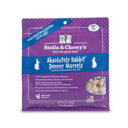 Stella & Chewy's Absolutely Rabbit Freeze-Dried 8 oz.