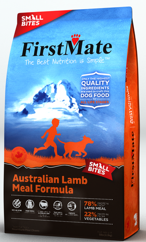 First Mate Australian Lamb Diet Small Bites  14.5lbs