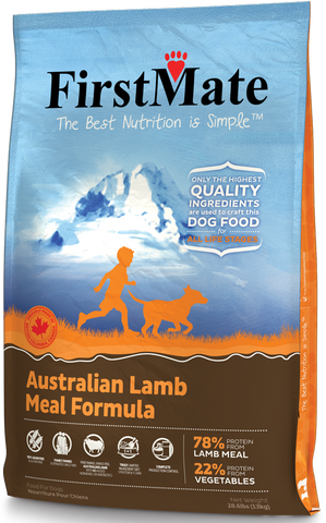 First Mate Australian Lamb Diet 28 lbs