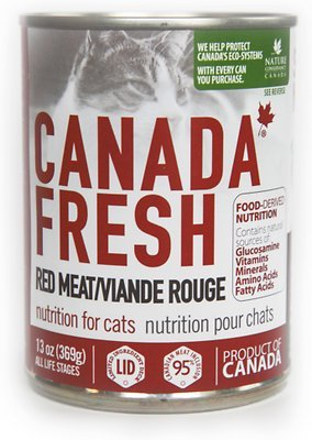 Canada Fresh Nutrition Red Meat Formula for cats 12 x 13oz cans