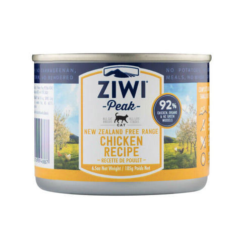 Ziwi Peak Chicken Cans for Cats 12 x 6.6 oz