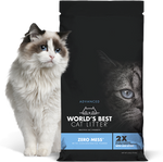 World's Best Cat Litter' Advanced Zero Mess 24 lbs.