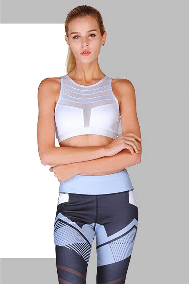 Yoga Sportswear Cut out Long Sleeve Fitness Crop Top