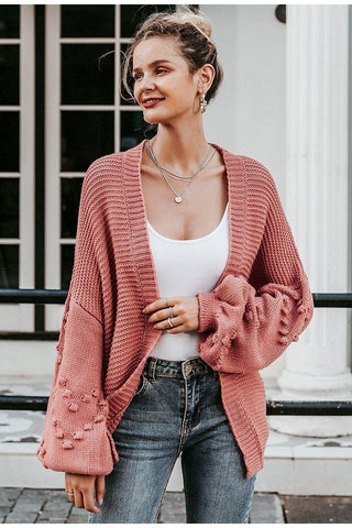 Loose Knitted Boyfriend Cardigan