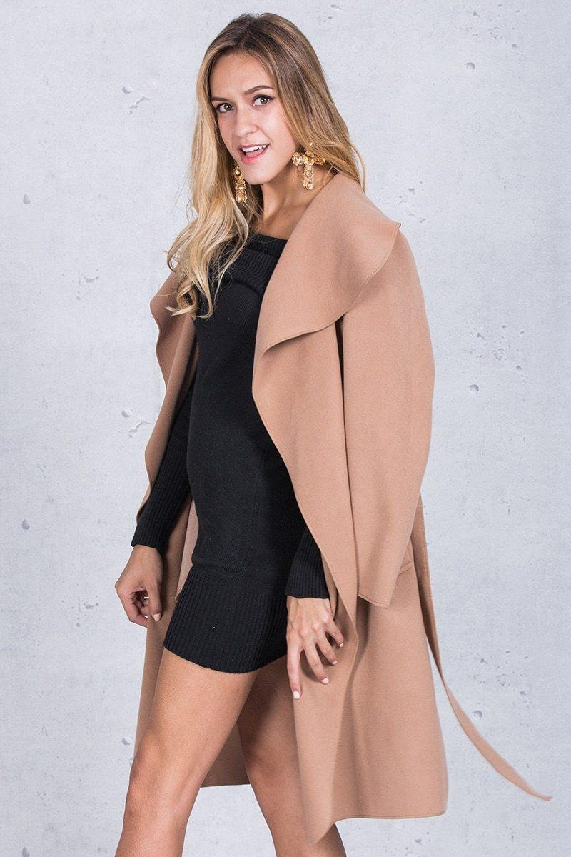 Prisca Turn-down Collar Coat