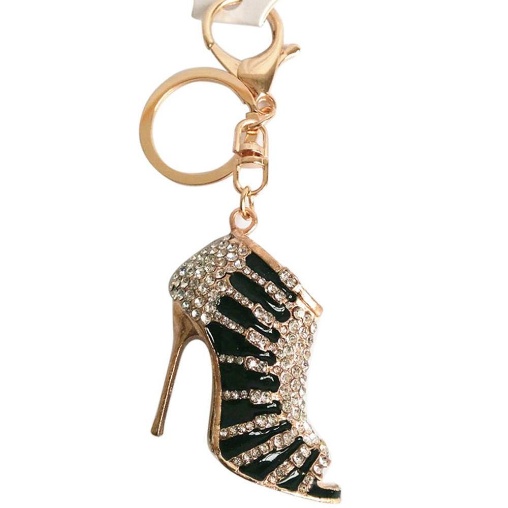 Stiletto High Heel Keyring Purse Pendant - Luv Fashion