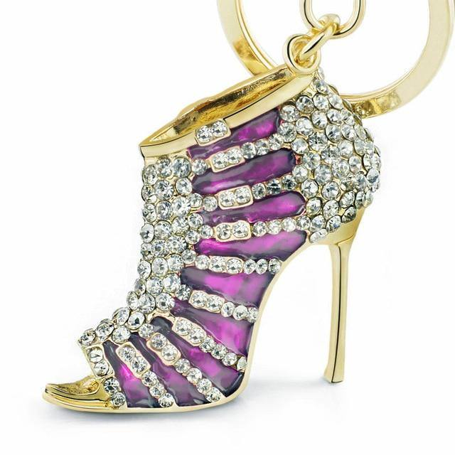 Stiletto High Heel Keychain