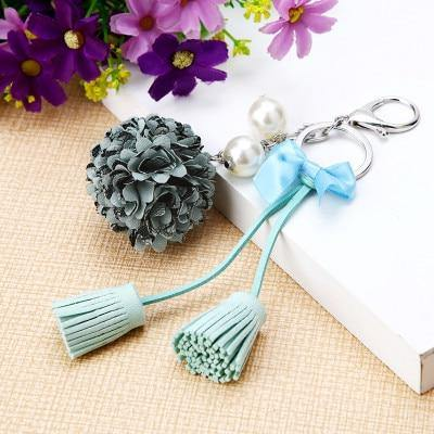 Creative Ornaments Flower Keychain