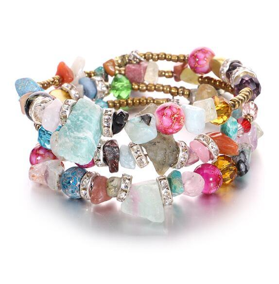 Coloful Boho Multilayer Bracelet