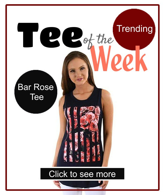 tee of the week t-shirt for women