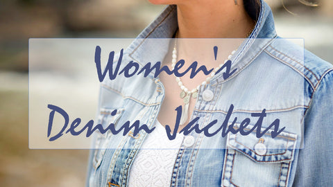 Womens Denim Jacket Collection LUV Fashion