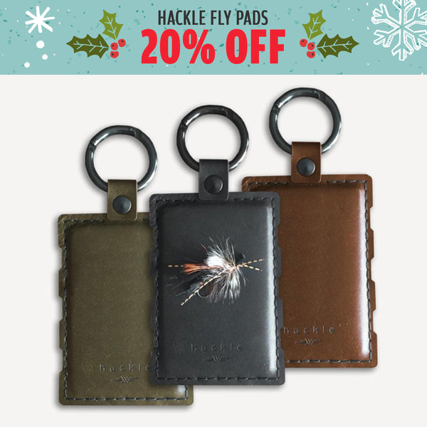 Hackle Fly Pad - 20% Off