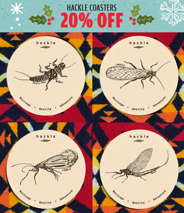 LEATHER ENTOMOLOGY COASTERS - 20% off