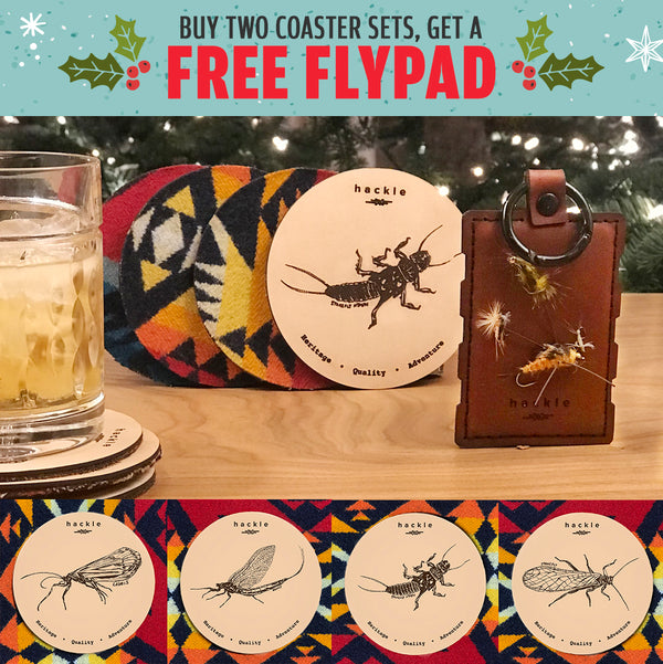 Buy Two coaster sets get a fly pad free - bundle
