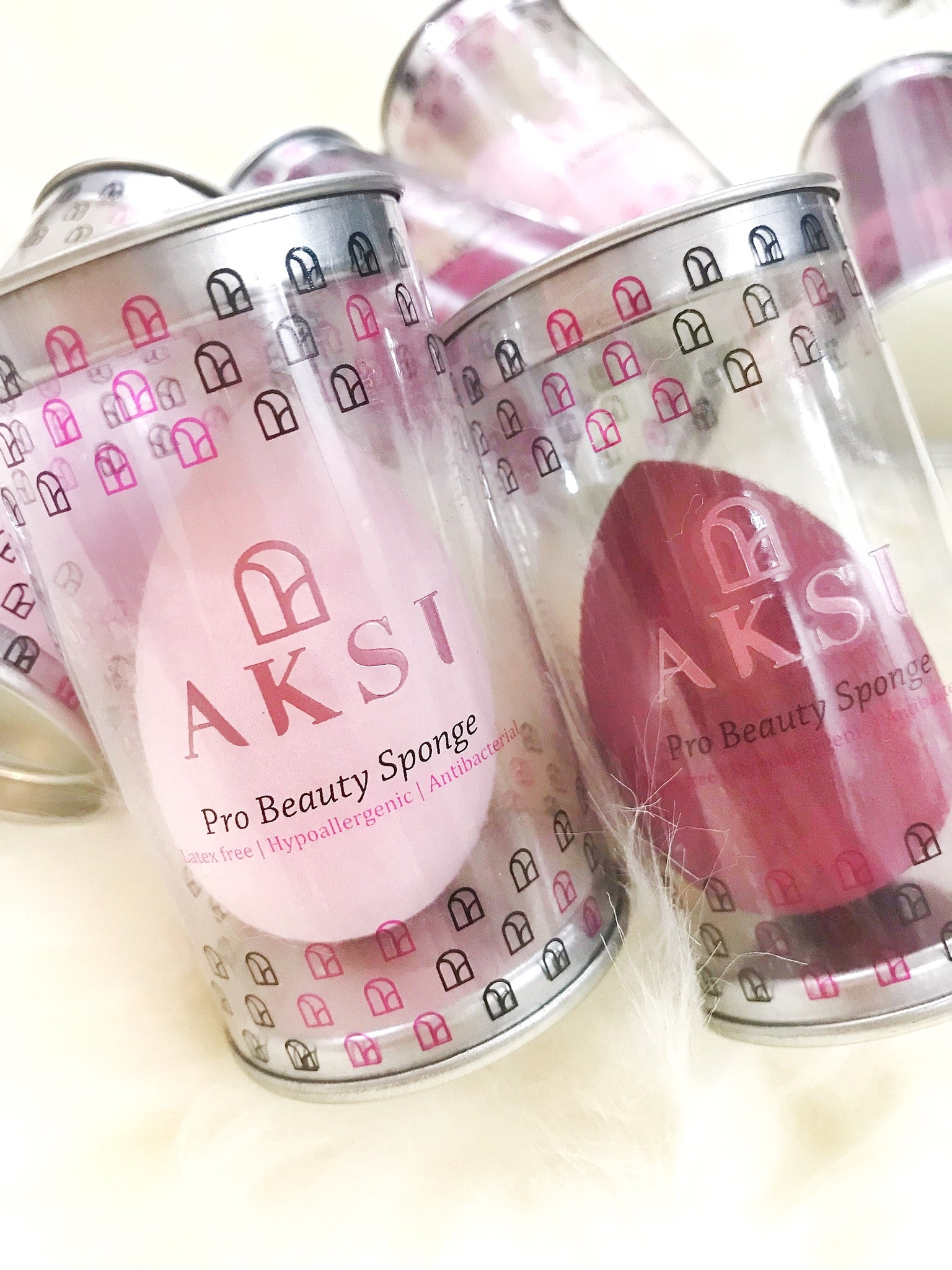 AKSI Pro Beauty Sponge (soft pink) - AKSI Beauty