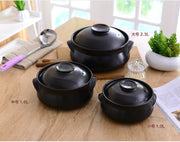 pottery pot / ጻሕሊ soup pot steamed rice braised chicken rice and heat resistant pot