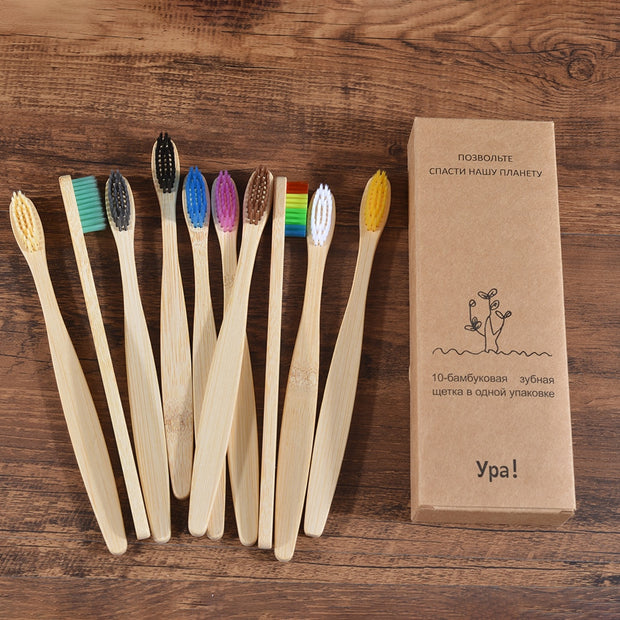 Bamboo Toothbrush  Bristle Charcoal
