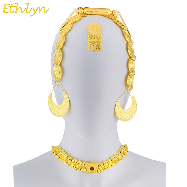 Eritrean Wedding Traditional Jewelry Five Pcs
