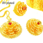 New Ethiopian  Jewelry Set Habesha African Wedding Bride Eritrea Set Necklace/Earring/Pendent/Ring Women