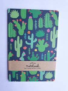 Libreta, Cactus - Pretty Things Store