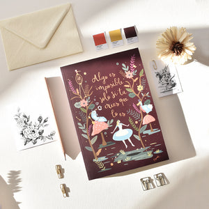 "CUADERNO DE CUENTO ""Algo es imposible""-PRETTY THINGS STORE"
