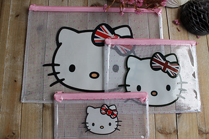 Portadocumentos y estuche, Hello Kitty - Pretty Things Store