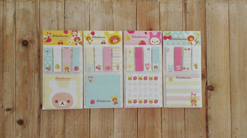 Set de marcadores Rilakkuma.-Azul - Pretty Things Store