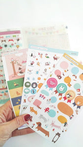Carpetita  stickers, Joo Zoo - Pretty Things Store